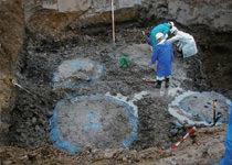 土壌汚染対策工法の改良体の出来形確認
