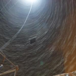 M発電所1号煙突ライニング更新工事