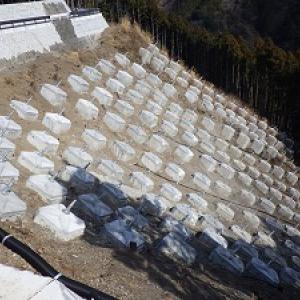 藤枝黒俣線24年度道路災害復旧工事