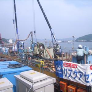 平成25年度 撫養港海岸桑島瀬戸地区堤防改良工事(その2)