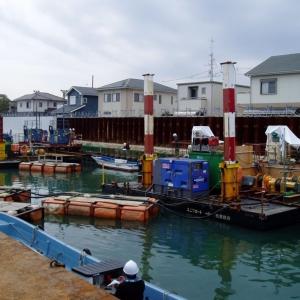 平成27年度 富田港地区護岸CPG工事