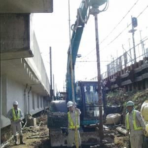 常磐快速線利根川橋りょう改良工事