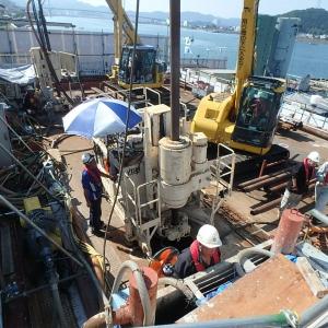 平成26年度 撫養港MJS工事