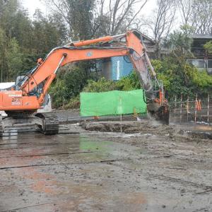 仁良川土地区画整理地区第一工区18街区擁壁工事