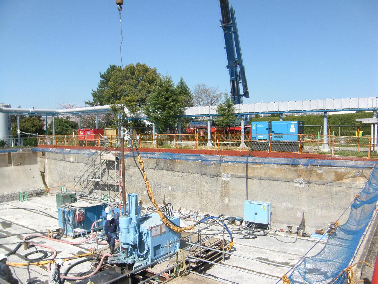 山崎水処理センター簡易処理高度化施設築造工事