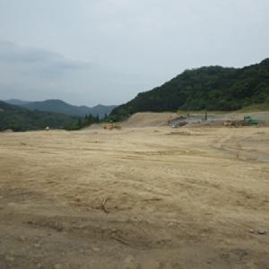 粟野太陽光敷地造成工事