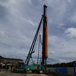 松島大橋老朽化対策工事に伴う地盤改良