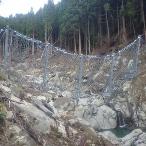石流・流木流下防止対策工事