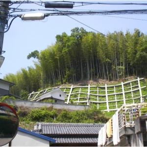 鹿背山急傾斜地崩壊対策工事